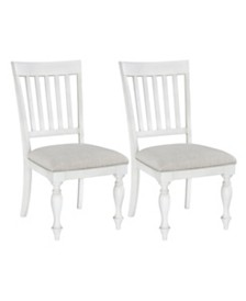 Grand Bay 2-Pack Upholstered Side Chairs, Quick Ship