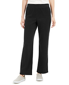 Karen Scott Microfleece Pants, Created for Macy's