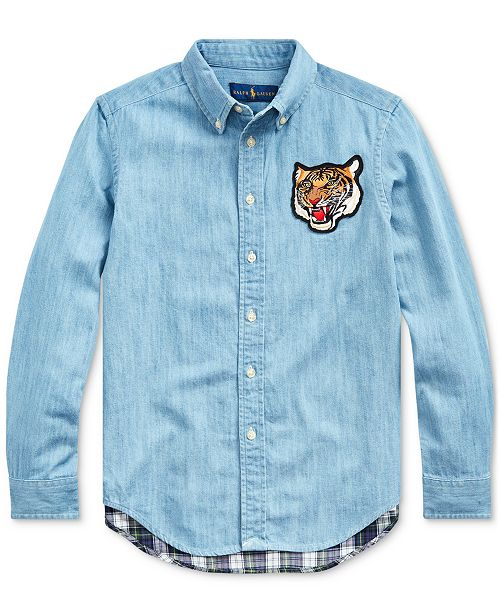 Polo Ralph Lauren Big Boys Chambray Shirt