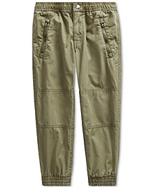 Little Boys Poplin Joggers
