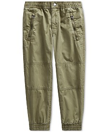 Polo Ralph Lauren Little Boys Poplin Joggers