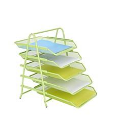 5 Tier Paper Tray Desk Organizer
