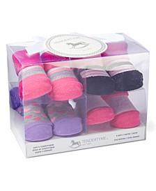 3 Stories Trading Infant Socks In A Box Girl