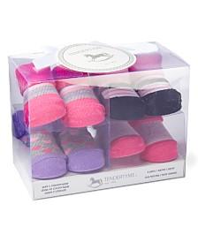 Tendertyme Infant Socks in a Box Girl