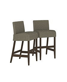 Outdoor Living Smartwick Patio Bar Stools, 2-Pack