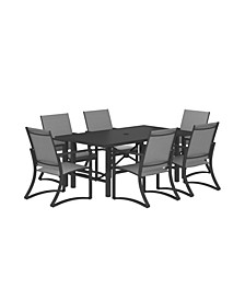 Outdoor Furniture 7-Piece Patio Dining Set