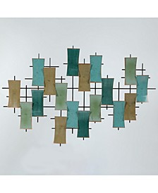 Metal Abstract Geometric Wall Decor