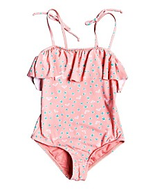 Roxy Little Girl Splash Party One Piece Swimsuit
