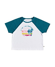 Roxy Big Girl Coconut Passion Screen Tee