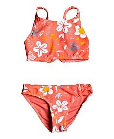 1ac3ea6595 Roxy Girls Swimsuits & Girls Swimwear- Bathing Suits for Girls - Macy's