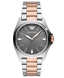 Men's Two-Tone Stainless Steel Bracelet Watch 40mm