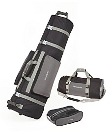 Deluxe 3 Piece Golf Travel Set