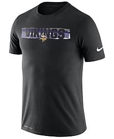Nike Men's Minnesota Vikings Dri-FIT Mezzo Tear T-Shirt