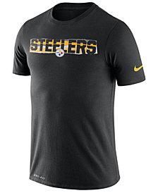 Nike Men's Pittsburgh Steelers Dri-FIT Mezzo Tear T-Shirt