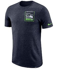 Nike Men's Seattle Seahawks Marled Stadium T-Shirt