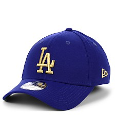 New Era Los Angeles Dodgers Flag Patch 39THIRTY Cap