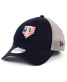 New Era Texas Rangers Home Of The Brave 9FORTY Cap