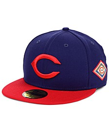 Cincinnati Reds World Series Patch 59FIFTY Fitted Cap