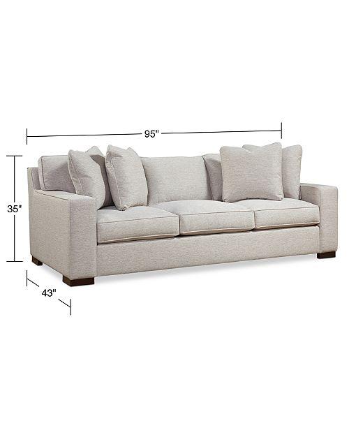 Bangor 95 Xl Fabric Sofa Created For Macy S