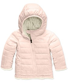 Baby Girls Reversible Mossbud Swirl Insulated Hoodie