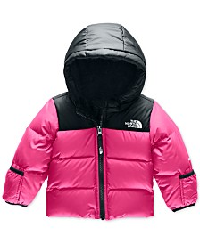 The North Face Baby Girls Moondoggy 2.0 Hooded Down Jacket