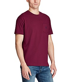 Men's Big & Tall Classic Fit Cotton Jersey Pocket Tee