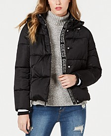 Bomber Hooded Puffer Coat