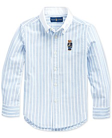 Big Boys Oxford Stripe Shirt