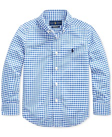 Polo Ralph Lauren Toddler Boys Performance Poplin Shirt