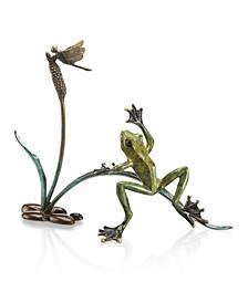 Home Rainforest Frog Sculpture
