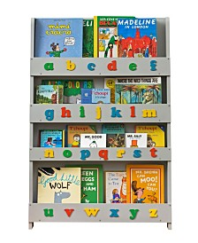 The Tidy Books Kid's Bookshelf with Alphabet