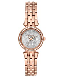 Women's Petite Darci Rose Gold-Tone Stainless Steel Bracelet Watch 26mm