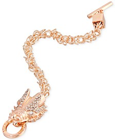 GUESS Crystal Dragon Toggle Bracelet