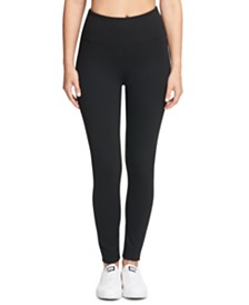 DKNY Sport Tummy-Control Compression Leggings