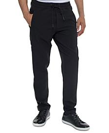 Men's Taping Accented Knit Joggers