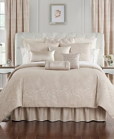 Waterford Gisella Reversible California King 4 Piece Comforter Set