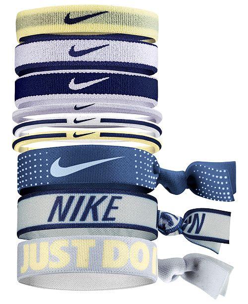 Nike 9-Pc. Ponytail Holder Set