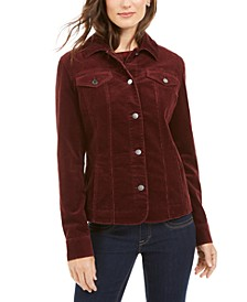 Petite Corduroy Jacket, Created for Macy's