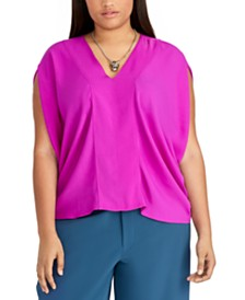 RACHEL Rachel Roy Trendy Plus Size Claire Top
