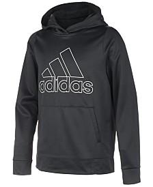 adidas Big Boys Logo-Print Hoodie