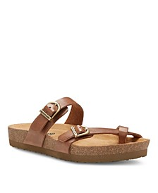 Eastland Women's Tiogo Thong Sandals