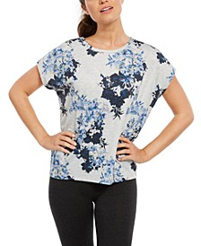Floral-Print T-Shirt, Created for Macy's