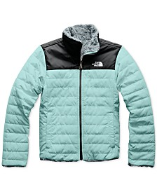 The North Face Little & Big Girls Reversible Mossbud Swirl Jacket