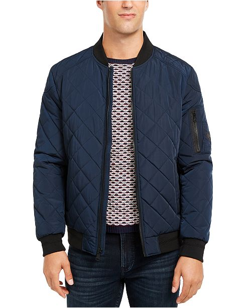 Macy's Bomber JacketCreated Men's For Quilted fYby7mvI6g