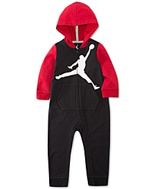 Baby Girls & Boys Colorblocked Jumpman Coverall
