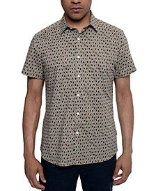 Men's Paisley-Print Shirt