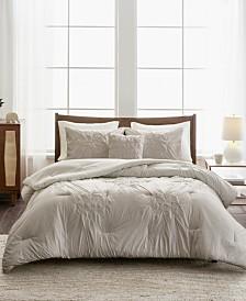 Madison Park Giselle 4-Pc. Tufted Seersucker Comforter Sets