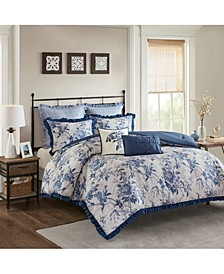Abigail Cotton Ruffle 7-Pc. Comforter Sets