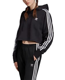 adidas Originals Adicolor Cotton Cropped Hoodie