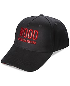 Receive a FREE Baseball Cap with any large spray purchase from the DSQUARED2 Men's Wood fragrance collection